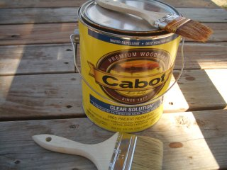 deck stain, Cabot