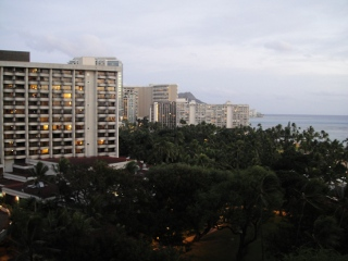 Ocean View from Alii Tower