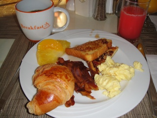 Hilton Breakfast, Buffet
