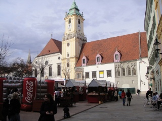 old city center