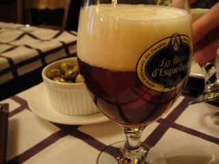 restaurant in Paris, French beer