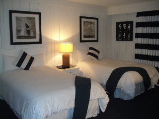 Montauk Yacht Club, hotel room