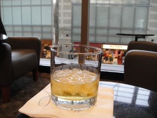 whiskey in Lounge