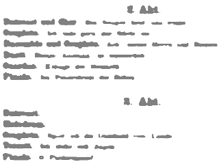 old document, unreadable