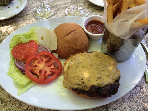 THE Green Chili Hamburger