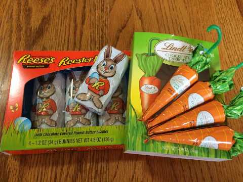 Reeses and Lindt
