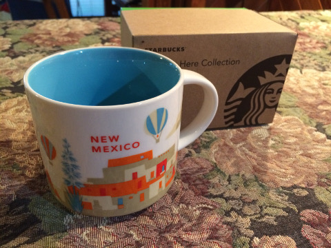 Starbucks You are here collection. New Mexico