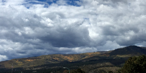 Pajarito mountains